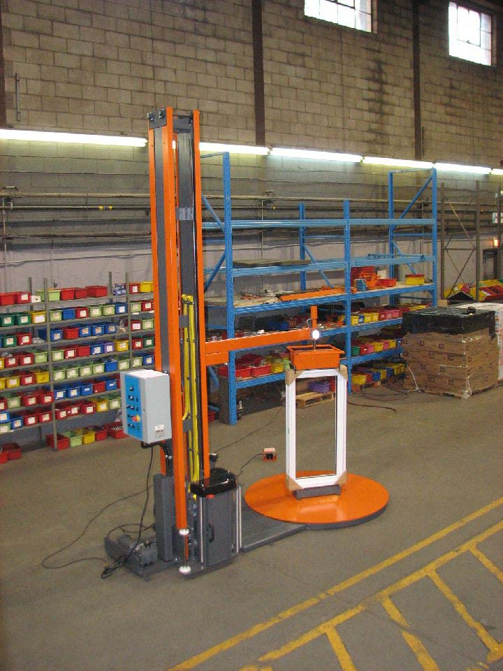 Customized Stretch Wrapping Machine For Windows