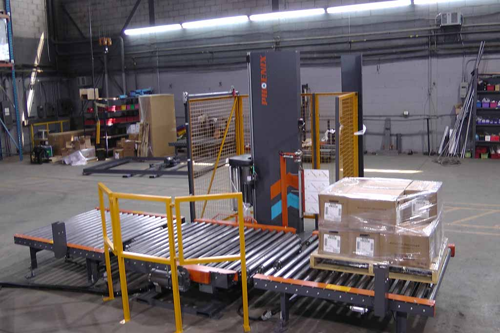 Stretch Wrapping Machines For Brick & Block