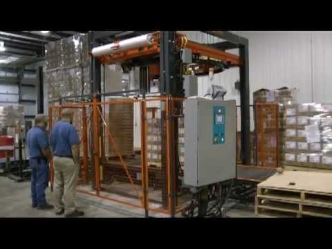 Custom Automatic Wrapping Machine For Tall, Unstable Loads