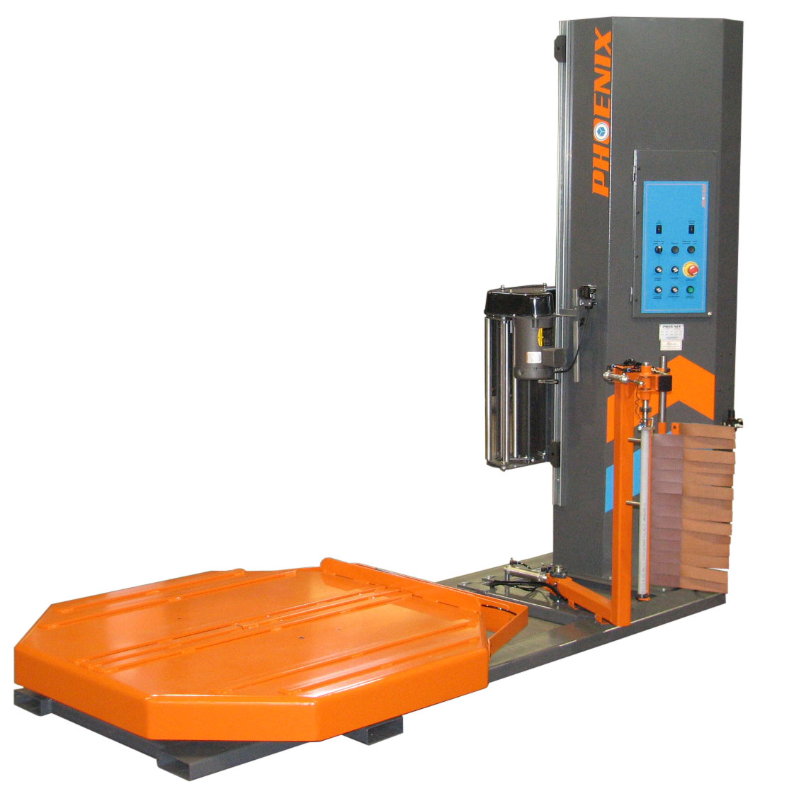 The PHPA Pallet Wrapper Is Designed Specifically For Forklift Use