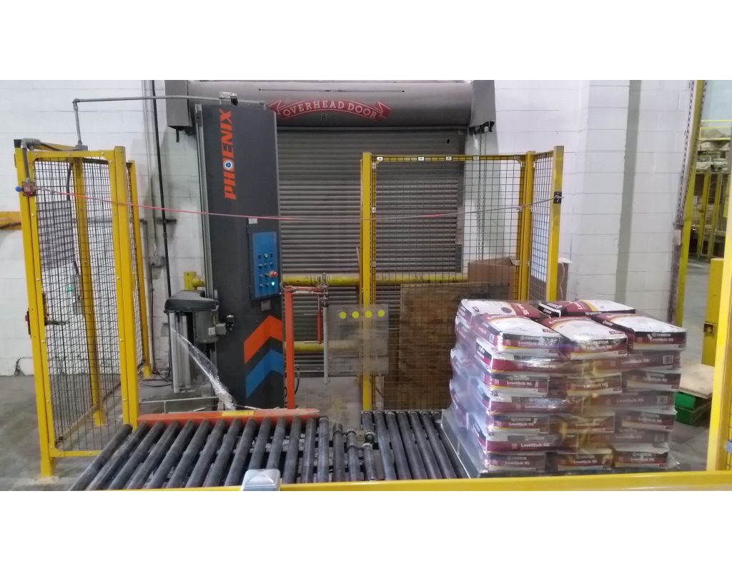 Dependability Defines Conveyorized Turntable Automatic Wrapping Machine  Copy