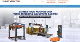 Stretch Wrapper Website Home Page
